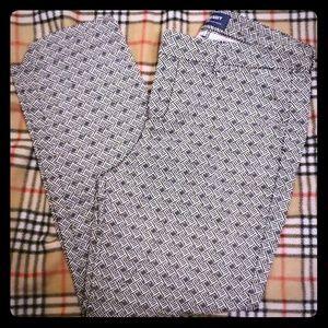Old Navy size 6 Harper Midrise pants
